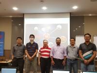 group photo petronas